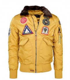 JACHETA YELLOW TOP GUN FLIGHT ′FLYING TIGERS′