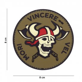 Patch 3D PVC Mori Vincere Vel Red/White