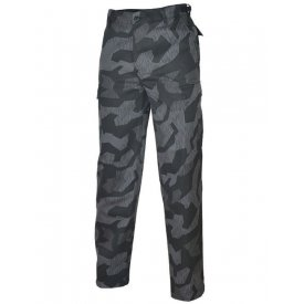 PANTALONI MILITARI BDU RANGER CAMUFLAJ SPLINTER NIGHT