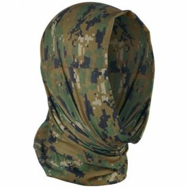 BANDANA MULTIFUNCTIONALA CAMUFLAJ WOODLAND DIGITAL