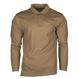 BLUZA POLO QUICK DRY COYOTE