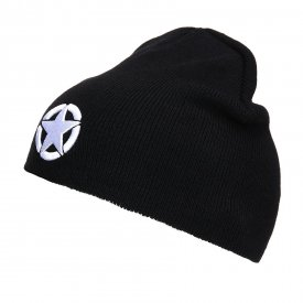 CACIULA BEANIE ALLIED STAR BLACK