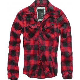 CAMASA CHECK SHIRT RED-BLACK