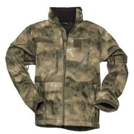 JACHETA SOFTSHELL SCU 14 FOLIAGE GREEN