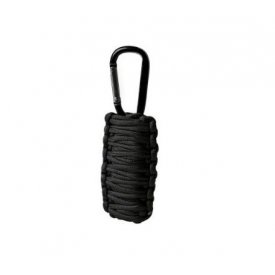 KIT SUPRAVIETUIRE PARACORD BLACK SMALL