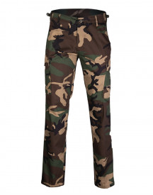 PANTALONI US BDU STY.RANGER FIELD PANTS ′STRAIGHT CUT′ WOODLAND CAMO