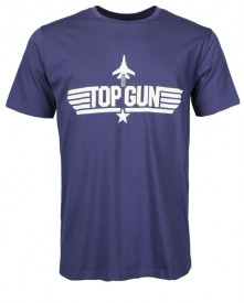 TRICOU M.DRUCK TOP GUN BLUE
