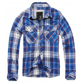 CAMASA CHECK SHIRT BLUE