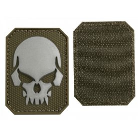 OD PVC SKULL 3D PATCH W. HOOK&LOOP CLOSURE SM