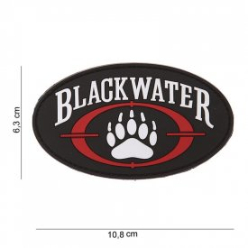 Patch 3D PVC Blackwater