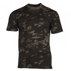 TRICOU COPII CAMUFLAJ MULTITARN BLACK