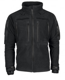 JACHETA FLEECE MIL-TEC® PLUS BLACK