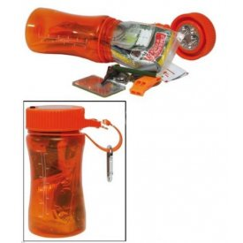 OUTDOOR SURVIVAL BOX ORANGE