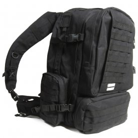 RUCSAC 3-DAY ASSAULT PACK HUMVEE 66 LITRI BLACK