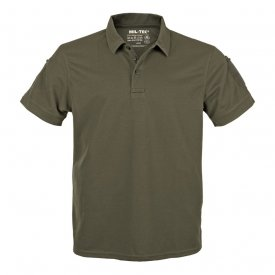 TRICOU TACTICAL POLO QUICKDRY OD