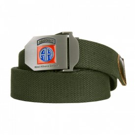 Curea Web belt style 9 82nd Airborne Oliv