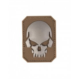 DARK COYOTE PVC SKULL 3D PATCH W.HOOK&LOOP CLOS.SM
