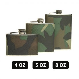 PLOSCA CAMUFLAJ WOODLAND - 220 ML