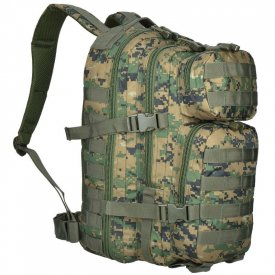 RUCSAC MILITAR ASALT 20L DIGITAL WOODLAND SMALL