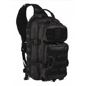 RUCSAC TACTICAL BLACK ONE STRAP ASSAULT PACK LARGE 29L