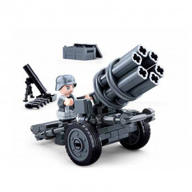 Sluban German Army Rocket gun M38-B0680A
