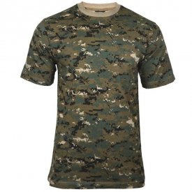 TRICOU BARBATI CAMUFLAJ WOODLAND DIGITAL