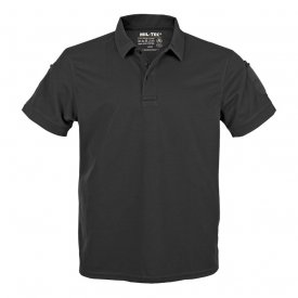 TRICOU TACTICAL POLO QUICKDRY BLACK