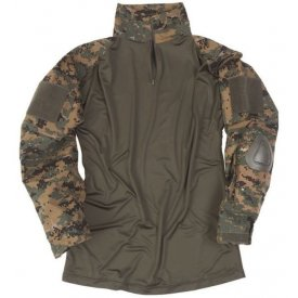BLUZA TACTICA WARRIOR CAMUFLAJ DIGITAL WOODLAND