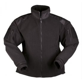 JACHETA TRILAMINATA FLEECE DELTA BLACK