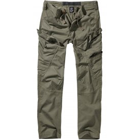PANTALONI ADVEN SLIM FIT BRANDIT OLIV