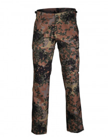 PANTALONI US BDU STY.RANGER FIELD PANTS ′STRAIGHT CUT′ FLECKTARN