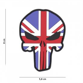 Patch 3D PVC Punisher UK