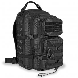 RUCSAC TACTICAL BLACK BACKPACK US ASSAULT LARGE 36L