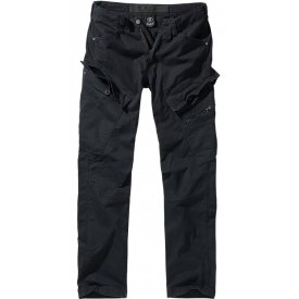 PANTALONI ADVEN SLIM FIT BRANDIT NEGRI