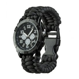 CEAS PARACORD UHR BLACK