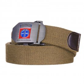 Curea Web belt style 9 82nd Airborne Coyote