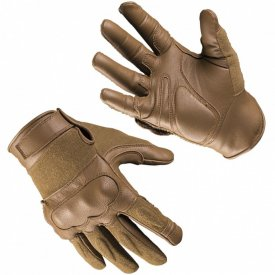 MANUSI TACTICE LEATHER-KEVLAR® DARK COYOTE