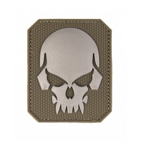 OD PVC SKULL 3D PATCH W. HOOK&LOOP CLOSURE