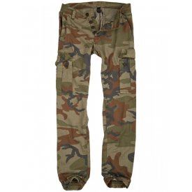PANTALONI BAD BOYS CAMUFLAJ WOODLAND RAW VINTAGE