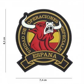 Patch 3D PVC Espana Red