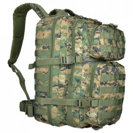 RUCSAC MILITAR ASALT 36L DIGITAL WOODLAND LARGE