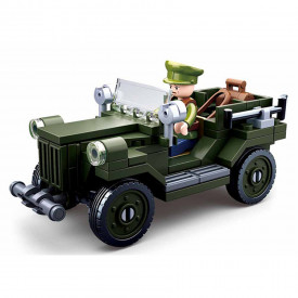 Vehicul Sluban WWII Allied light truck M38-B0682