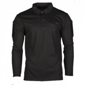 BLUZA POLO QUICK DRY BLACK