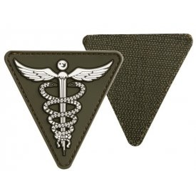 OD PVC MEDICAL 3D PATCH W. HOOK&LOOP CLOSURE