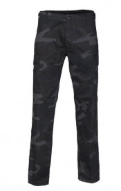 PANTALONI US BDU STY.RANGER FIELD PANTS ′STRAIGHT CUT′ BLACK CAMO