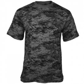 TRICOU BARBATI CAMUFLAJ BLACK DIGITAL