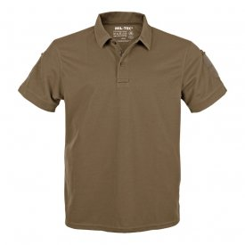TRICOU TACTICAL POLO QUICKDRY COYOTE