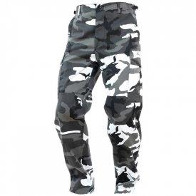 Pantaloni Militari BDU Camuflaj Urban