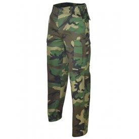 Pantaloni Militari BDU Ranger Camuflaj Woodland