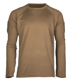 BLUZA TACTICA DARK COYOTE TACTICAL LONG SLEEVE SHIRT QUICK DRY